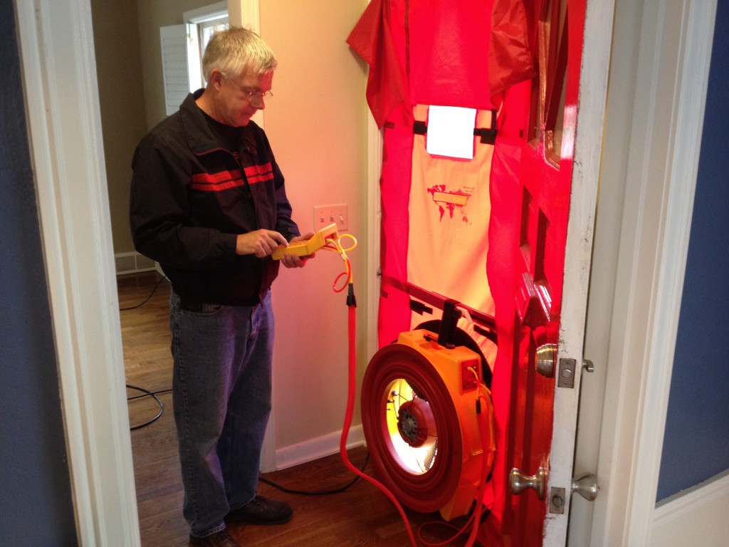 Blower door testing can make sure your home gets enough ventilation.